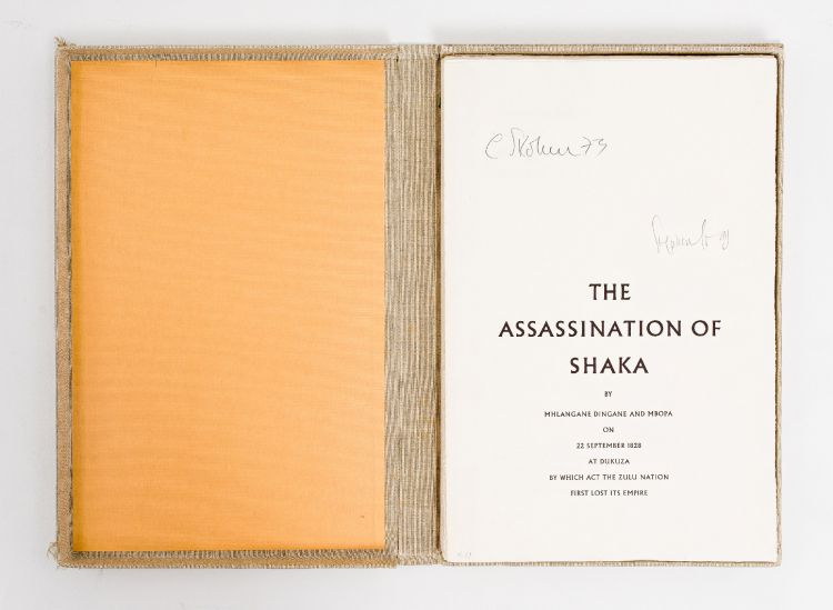 Cecil Skotnes; The Assassination of Shaka