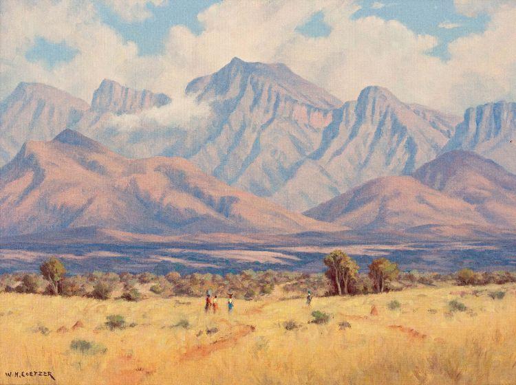 Willem Hermanus Coetzer; Naby Trichartdsdal, O. Transvaal