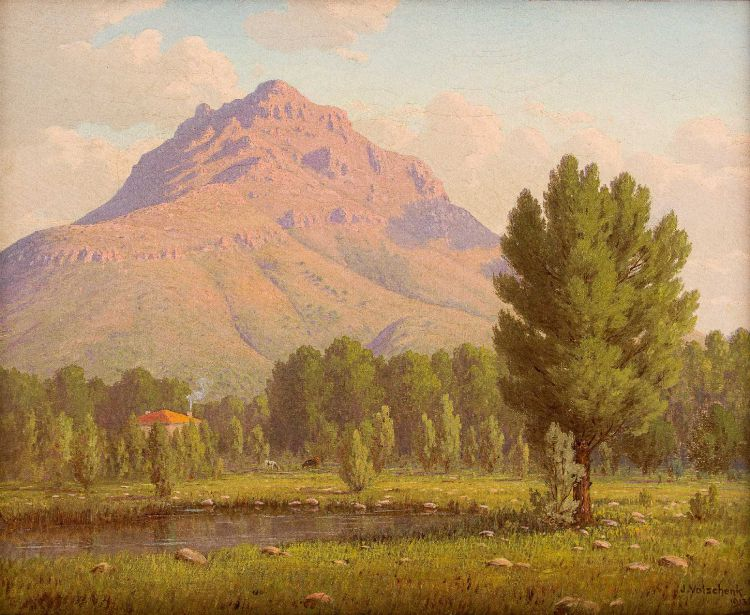 Jan Ernst Abraham Volschenk; The Stellenbosch Mountain