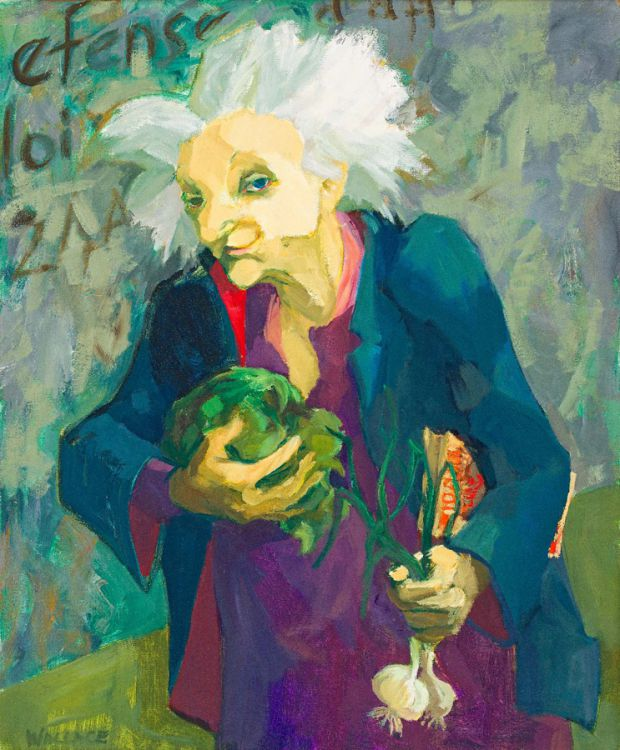 Marjorie Wallace; Woman with Vegetables