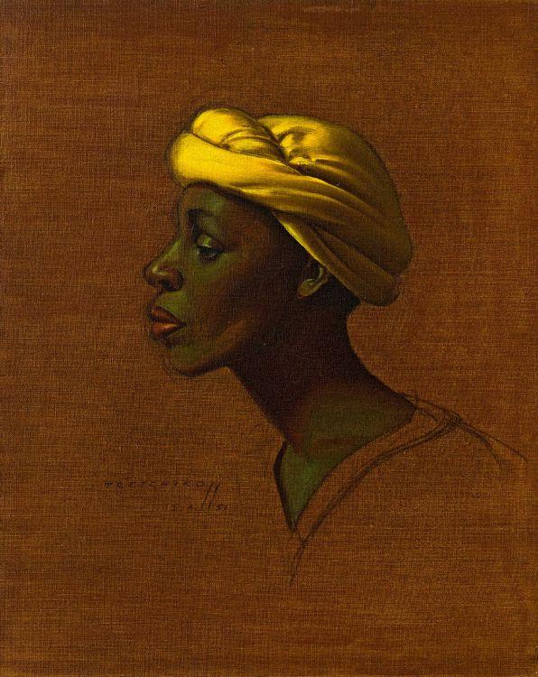 Vladimir Tretchikoff; North African Woman