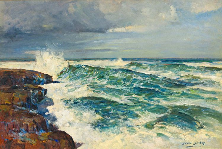 Errol Boyley; Breaking Waves