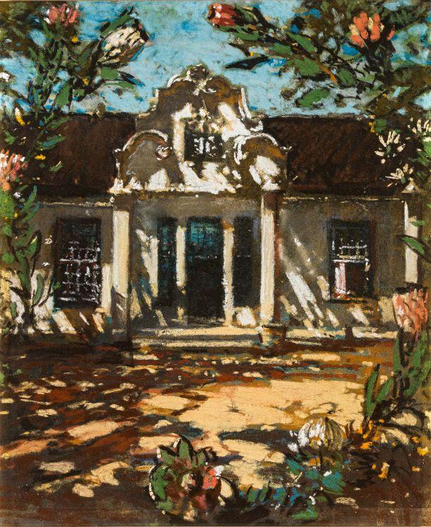 Robert Gwelo Goodman; Cape Dutch Homestead and Proteas
