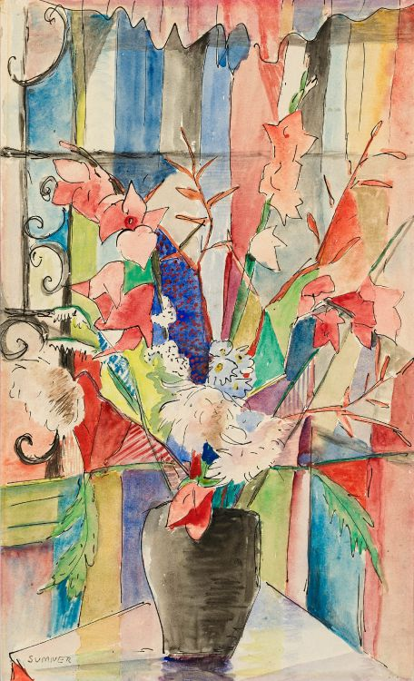 Maud Sumner; An Array of Flowers