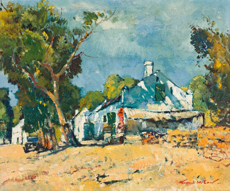 Terence McCaw; On Martin Melck's Farm on the Berg River, Hopefield