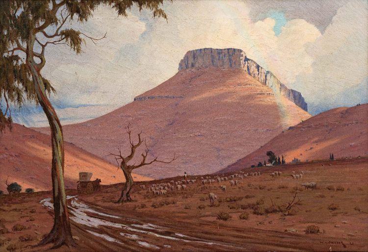 Willem Hermanus Coetzer; Na die Reën by Tarkastad