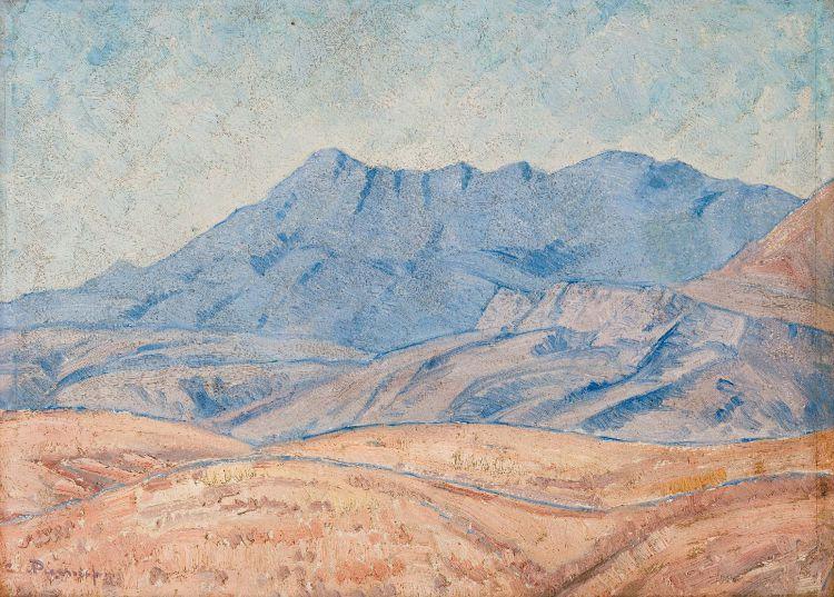 Jacob Hendrik Pierneef; Winter Landscape