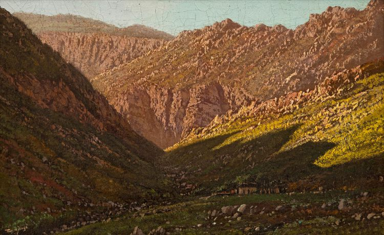 Tinus de Jongh; Mountain Gorge