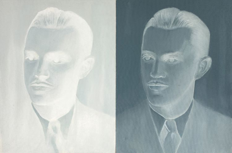 Sanell Aggenbach; The Player, diptych