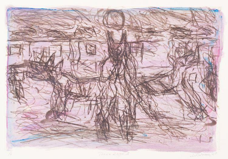 David Koloane; Three Dogs III