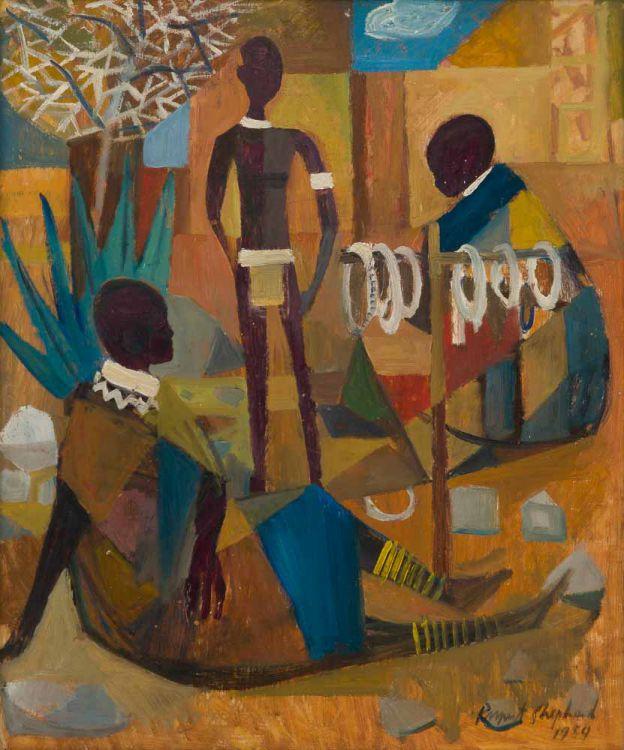 Rupert Shephard; Bead Sellers (Mapogga VI)