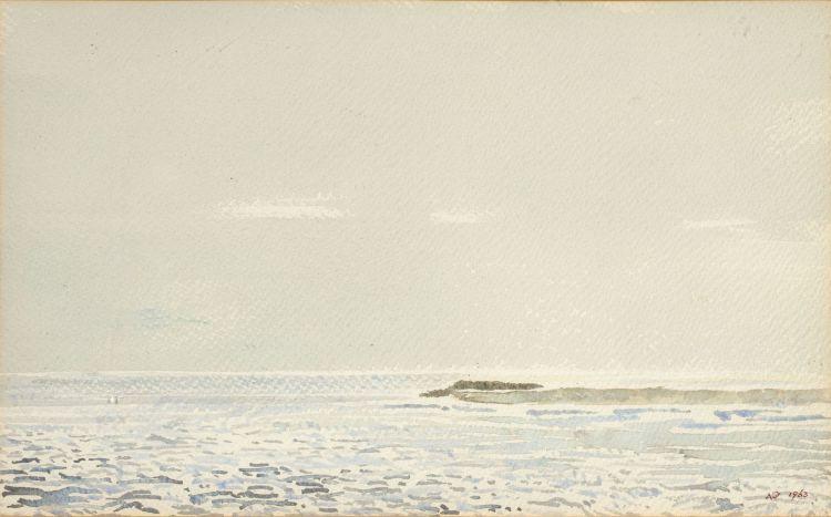 Adolph Jentsch; Seascape