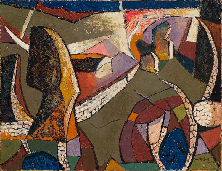 Walter Battiss; Rock Formations