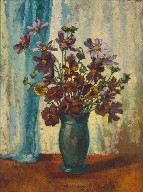 Otto Klar; Cosmos in a Vase