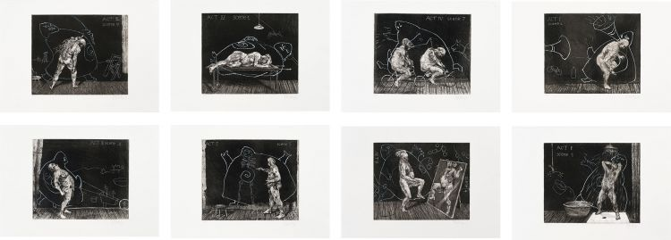 William Kentridge; Ubu Tells the Truth, eight
