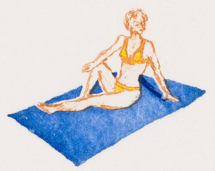 Luan Nel; The Sun Bather