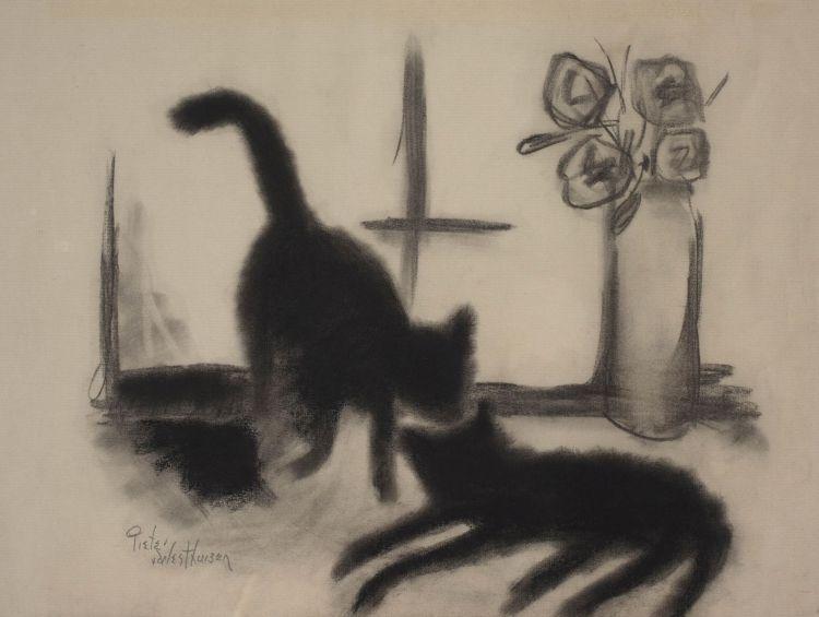 Pieter van der Westhuizen; Two Cats