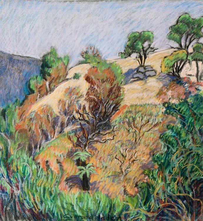 Leonora Everard-Haden; Hillside