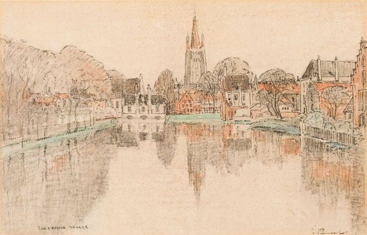 Jacob Hendrik Pierneef; Lac d'amour Brugge