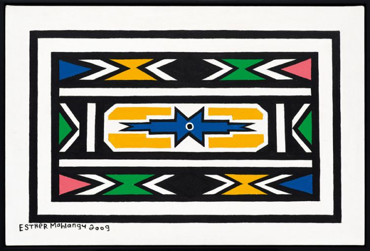 Esther Mahlangu; Ndebele Patterns