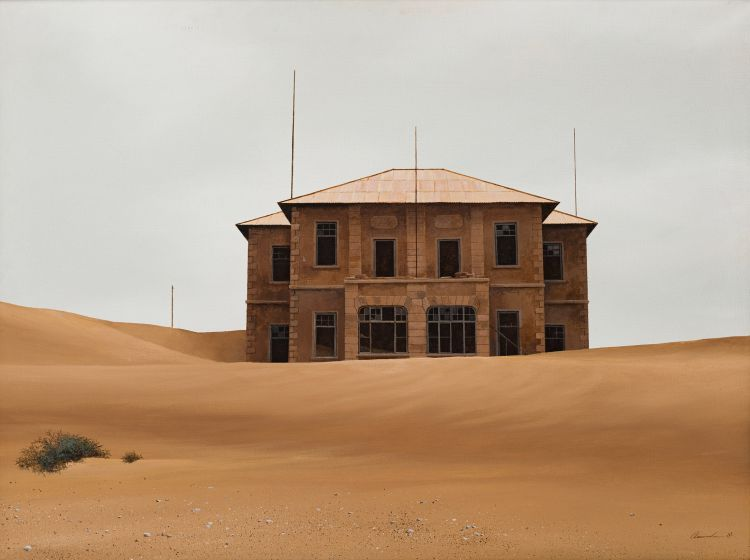 Keith Alexander; Kolmanskop in Fog