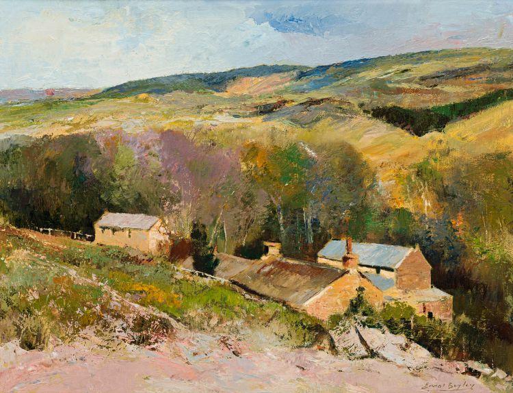 Errol Boyley; Farmstead in Valley
