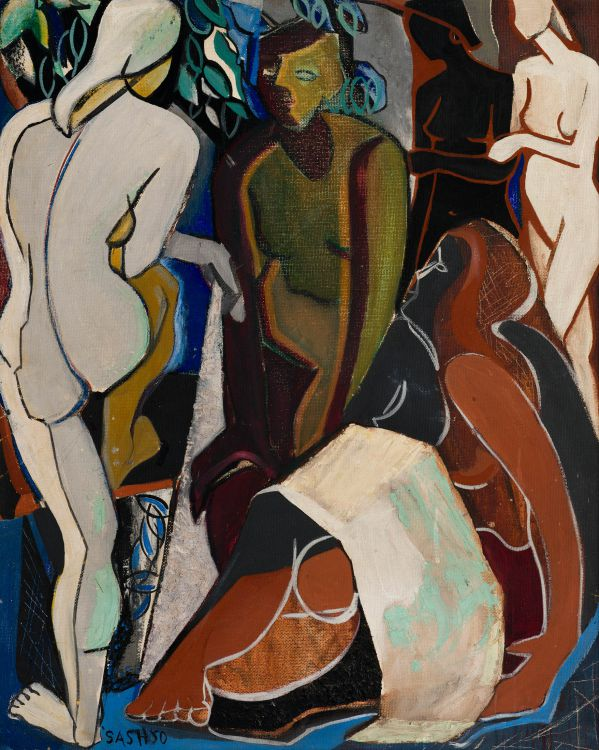 Cecily Sash; Female Figures