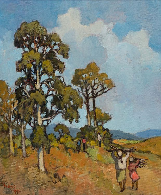 Conrad Theys; Firewood Gatherers