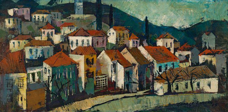 George Enslin; Roof Tops