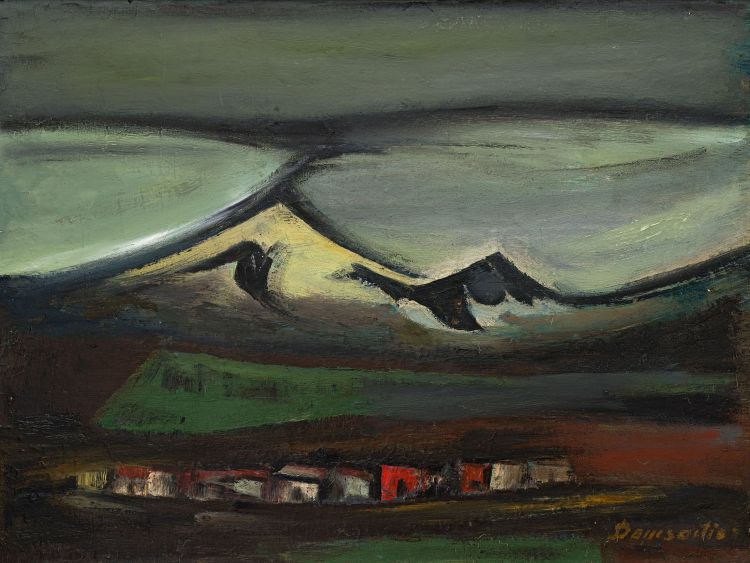 Pranas Domsaitis; Karoo Landscape