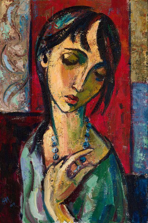 Hennie Niemann Jnr; The Blue Necklace