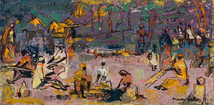 Walter Battiss; Camp Fire