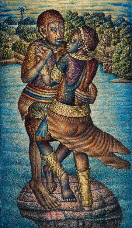 Mmakgabo Mmapula Helen Sebidi; The Traditional Lovers