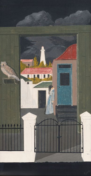Fred Page; Lighthouse and Owl