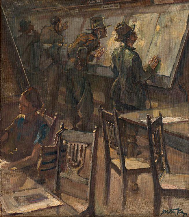 Dorothy Kay; War News