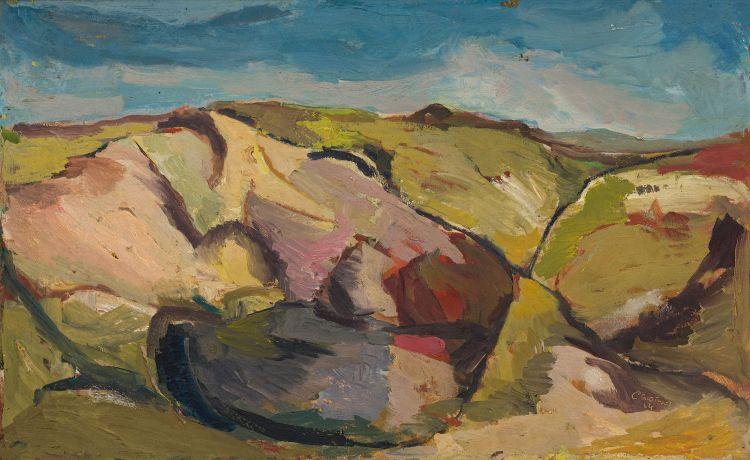 Cecil Skotnes; Highveld Landscape