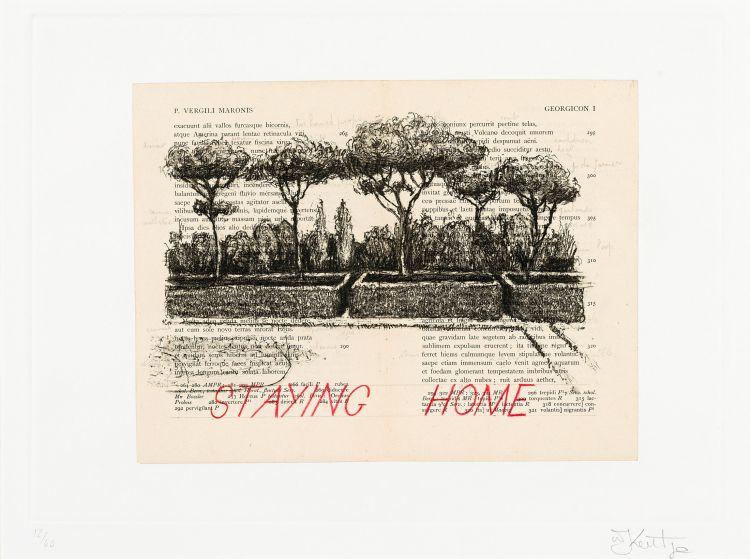 William Kentridge; Staying Home