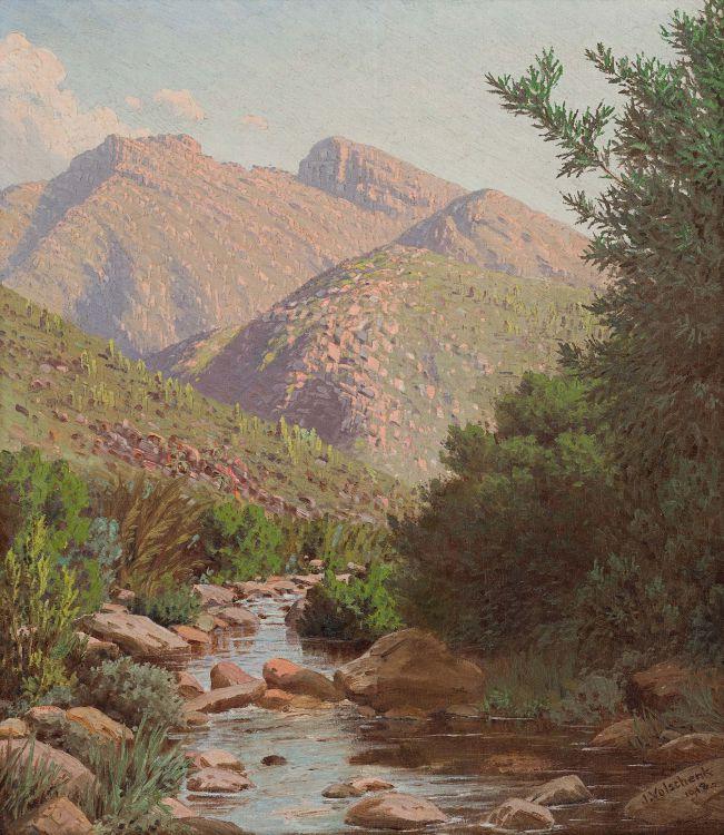 Jan Ernst Abraham Volschenk; Near the Source of the Vette River, Riversdale