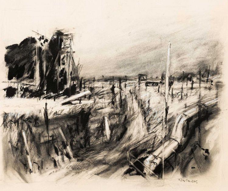 William Kentridge; Highveld Landscape