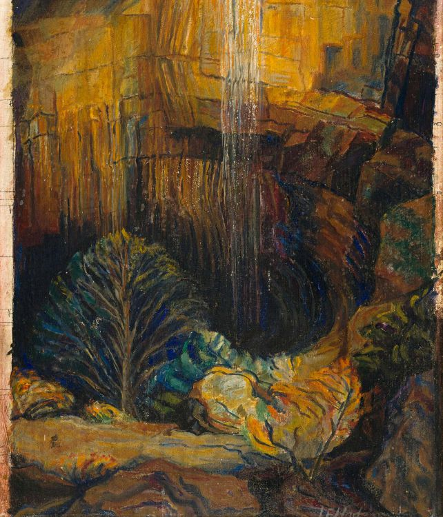Leonora Everard-Haden; Waterfall at Skurwekop