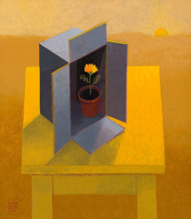 Susan Helm Davies; Marigold in Box