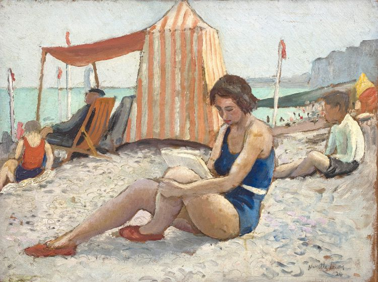 Alfred Neville Lewis; On the Beach