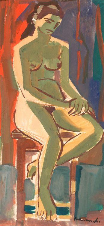 Maurice van Essche; Nude