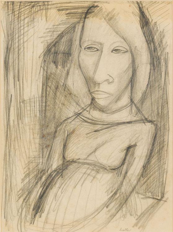 Alexis Preller; Portrait of a Woman