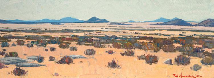 Piet van Heerden; Landscape, between Grunau and Karasburg, Namibia