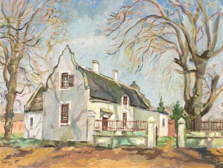 Gregoire Boonzaier; A Cape House