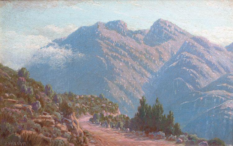 Jan Ernst Abraham Volschenk; View in Garcia's Pass, Riversdale