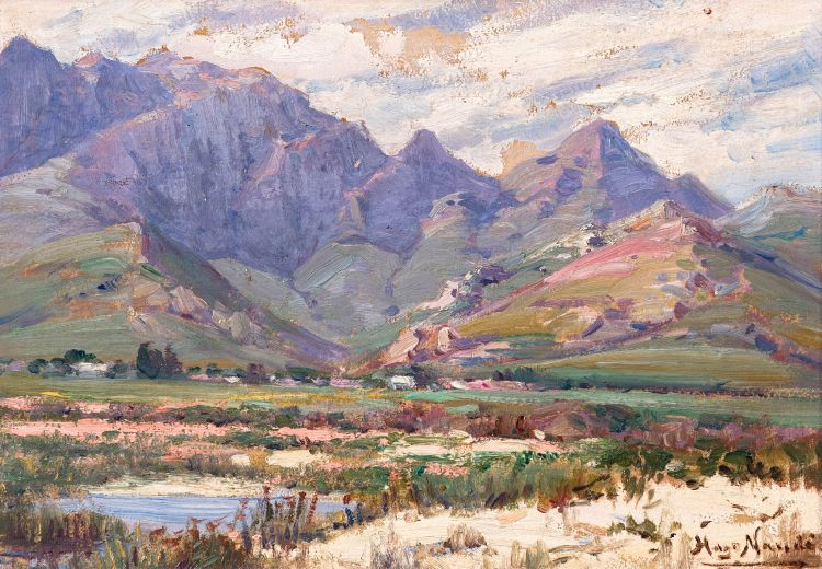 Hugo Naudé; From Botha's Halt