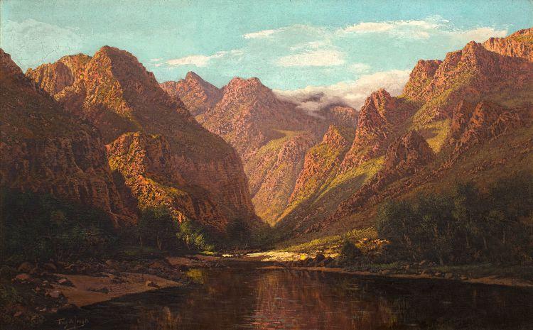 Tinus de Jongh; The Wildes near George, Cape