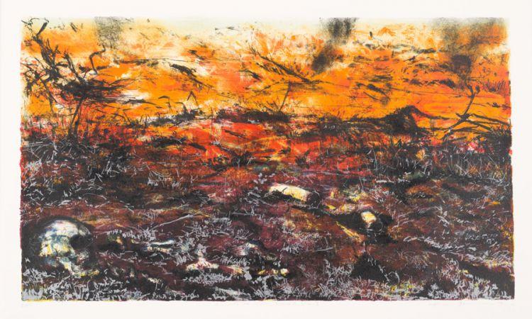 Kim Berman; Elements of Truth Highveld Fire II